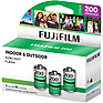 Fujicolor 200 Color Negative Film (35mm Roll Film, 36 Exposures, 3 Pack)