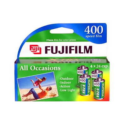 X-TRA ISO 400 35mm Color Film (24 Exp, 4 Pack) Image 0