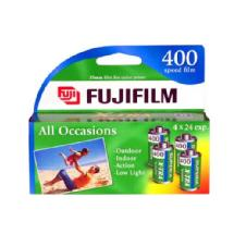 Fujifilm X-TRA ISO 400 35mm Color Film (24 Exp, 4 Pack)