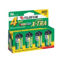 Fujifilm Superia 800 Speed 24 Exposure 35mm Film (4 Pack)