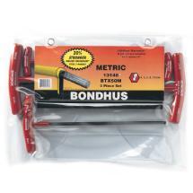 Bondhus Set 5 Balldriver T-Handles 4-10mm