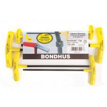 Bondhus Set 6 ProHold Balldriver T-Handles 5/32-3/8