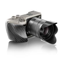 Hasselblad Lunar with 18-55mm Lens (Titanium Body with Carbon Fibre Grip)