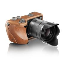 Hasselblad Lunar with 18-55mm Lens (Copper Body with Mahogany Wood Grip)