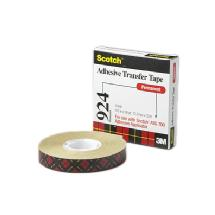 3M Scotch 0.75 in x 36 yd ATG Adhesive Transfer Tape (924 Clear)