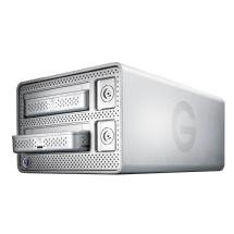 G-Technology 2TB G-DOCK ev Dual Bay Storage System with Thunderbolt
