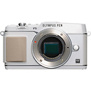 Olympus | E-P5 PEN Mirrorless Digital Camera Body (White) | V204050WU000