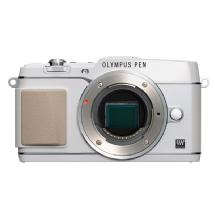 Olympus E-P5 PEN Mirrorless Digital Camera Body (White)