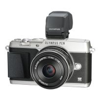 Olympus | E-P5 PEN Mirrorless Digital Camera with 17mm f/1.8 Lens (Silver) | V204053SU000
