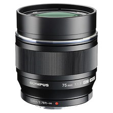 M.Zuiko Digital ED 75mm f/1.8 Lens (Black) Image 0