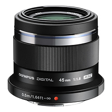 M. Zuiko Digital ED 45mm f/1.8 Lens (Black) Image 0