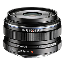 M.ZUIKO Digital 17mm f/1.8 Lens (Black) Image 0