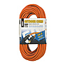 Heavy Duty Outdoor Extension Cords 50ft. 14/3 (Orange)