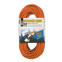 Prime Wire and Cable Heavy Duty Outdoor Extension Cords 50ft. 14/3 (Orange)