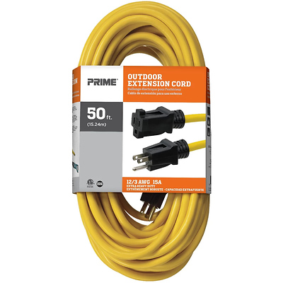 50 ft. 12/3 SJTW Outdoor Extension Cord Image 0