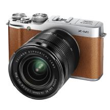 Fujifilm X-M1 Mirrorless Digital Camera with XC 16-50mm f/3.5-5.6 OIS Lens (Brown)