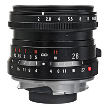Ultron 28mm f/2.0 Manual Focus M Mount Lens Image 0