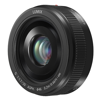 LUMIX G 20mm f/1.7 II Lens (Black) Image 0