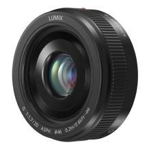 Panasonic LUMIX G 20mm f/1.7 II Lens (Black)