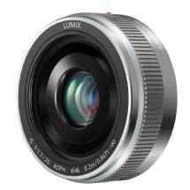 Panasonic LUMIX G 20mm f/1.7 II Lens (Silver)