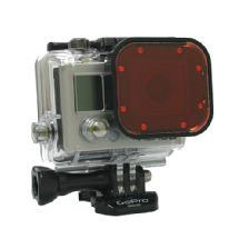 Polar Pro Glass Snap On Red Underwater Filter for GoPro Hero3