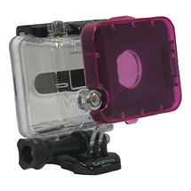 Polar Pro Magenta Underwater Filter for GoPro Hero1 and Hero2 Dive Housing