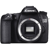 Canon Cameras EOS 70D Digital SLR Camera Body