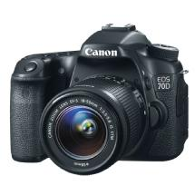 Canon EOS 70D Digital SLR Camera with 18-55mm STM f/3.5-5.6 Lens