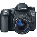 Canon | EOS 70D Digital SLR Camera with 18-55mm STM f/3.5-5.6 Lens | 8469B009