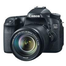 Canon EOS 70D Digital SLR Camera with 18-135mm STM f/3.5-5.6 Lens