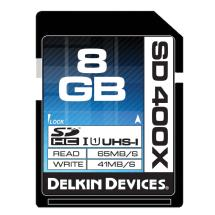 Delkin Devices 8GB SDHC Memory Card 400x UHS-I