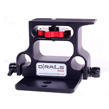 D/Focus Systems 701 D Rails DSLR Baseplate (Black) Image 0