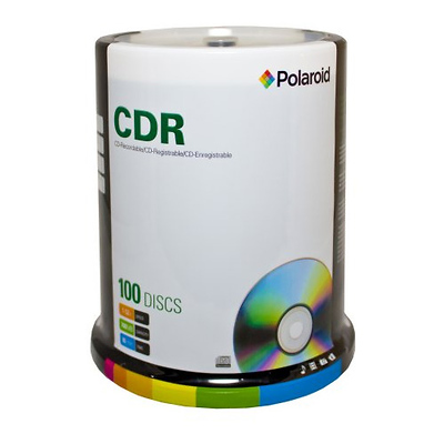 CD-R 700MB/80-Minute 52x Recordable Media Disc (100-Pack Spindle) Image 0