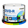 DVD-R 4.7GB/120-Minute 16x White Inkjet Hub Printable Recordable DVD Disc (50-Pack Spindle)