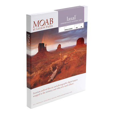 Moab Lasal Exhibition Luster 300 Paper 5x7 in. (50 Sheets) Image 0