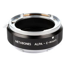 Alpa Lens to Sony NEX Camera Speed Booster Image 0