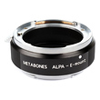 Alpa Lens to Sony NEX Camera Speed Booster