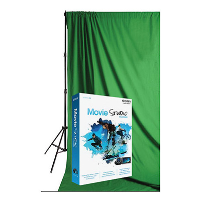 Green Screen Premium Video Background Kit Image 0