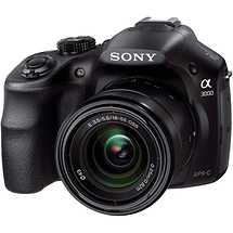 Sony Alpha A3000 Digital Camera with 18-55mm Lens