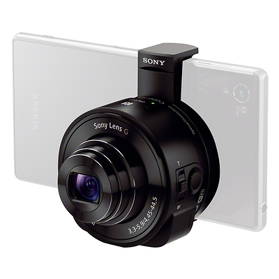 DSC-QX10 Smartphone Attachable Lens-style Camera (Black) Image 0