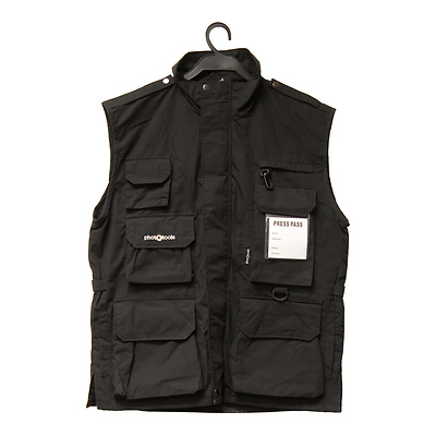 Photo Vest 14 (Black, L) Image 0