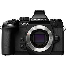 Olympus OM-D E-M1 Micro Four Thirds Digital Camera Body (Black)
