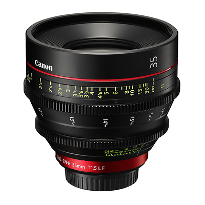 CN-E35mm T1.5 L F Cinema Prime Lens (EF-Mount) Image 0