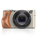 Hasselblad | Stellar Camera With Mahogany Wood Grip (Silver) | 3012609