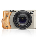 Hasselblad | Stellar Camera With Olive Wood Grip (Silver) | 3012618