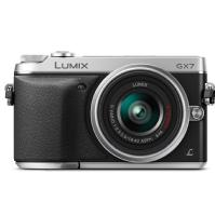 Panasonic | Lumix DMC-GX7 Digital Camera with G Vario 14-42mm Lens (Silver) | DMCGX7KS