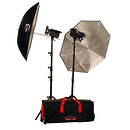 Photogenic | 1000 Watts 120V PowerLight Digital Travel Kit | PL2120K