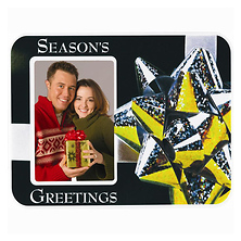 Season's Greetings Puff Frame Image 0