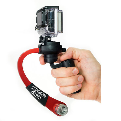 Curve Compact Camera Stabilizer for GoPro (Red) Image 0