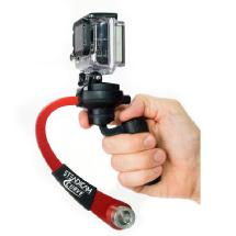 Steadicam Curve Compact Camera Stabilizer for GoPro (Red)